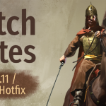 Mount&Blade II : Bannerlord patch e1.0.11 パッチe1.0.11